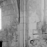 Retombée de voûtes dans la chapelle nord (1994)