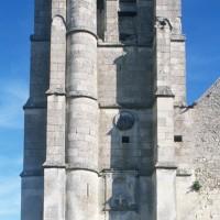 Le clocher vu de l'ouest (2016)