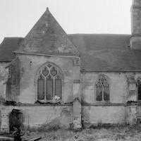 Le bas-côté et la chapelle nord vus du nord (1979)