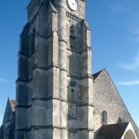 L'église vue du nord-ouest (1994)