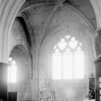 Vue partielle de la chapelle nord vers le nord (1994)