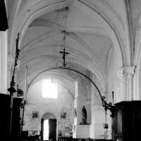 La nef vue vers le nord-ouest (1994)