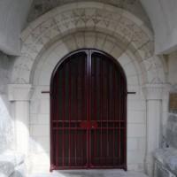 Le portail ouest après restauration (2016)