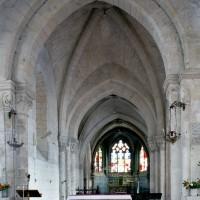 La première travée de l'ancien choeur du 12ème siècle vue vers l'est (2008)
