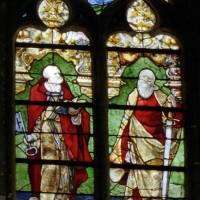 Vitrail de saint Pierre et saint Paul
