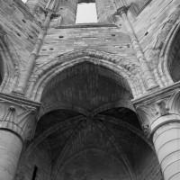 L'élévation d'une travée du bras nord du transept (1995)