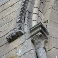 Détails de la fenêtre nord de la chapelle nord-est (2015)