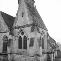 La chapelle nord-est vue du nord-est