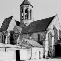 L'église vue du nord-ouest (1969)