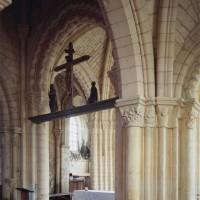 La base du clocher vue vers le nord-est (1997)
