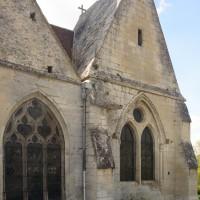 Le choeur et la chapelle nord-est vues du sud-est (2015)