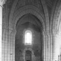 La base du clocher vue vers le nord (1996)