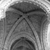 La voûte de la base du clocher vue vers le nord (1996)