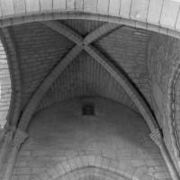 La voûte de la seconde travée de la nef vue vers le nord (1996)