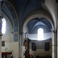 La croisée et le bras nord du transept vus vers le nord-ouest (2016)