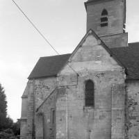 Le transept et le choeur vus du nord (1997)