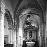 La croisée du transept et le  choeur vus vers le nord-est
