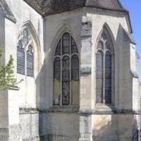 L'abside vue du sud (2016)