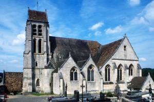 L'église vue du sud (1995)