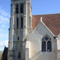Vue de la partie ouest de l'église depuis le sud (2016)