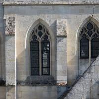 Les fenêtres de la partie sud du choeur (2016)