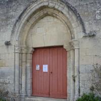 Le portail ouest vu du sud-ouest (2016)
