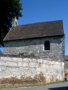 La chapelle vue du sud (1995)