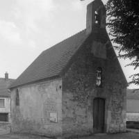 La chapelle vue du nord-ouest (1995)