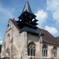 Vue partielle de l'église depuis le sud-ouest (1995)