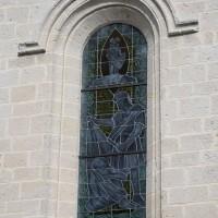 La fenêtre de la façade ouest de la nef (2016)