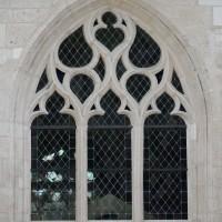 Fenêtre n°6 (en partant de la gauche) du côté nord de l'église (2016)
