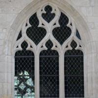 Fenêtre n°4 (en partant de la gauche) du côté nord de l'église (2016)