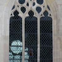 Fenêtre n°2 (en partant de la gauche) du côté nord de l'église (2016)