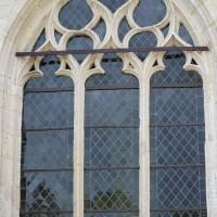 Fenêtre n°1 (en partant de la gauche) du côté nord de l'église (2016)