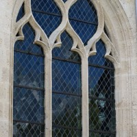 Fenêtre n°6 (en partant de la gauche) du côté sud de l'église (2016)