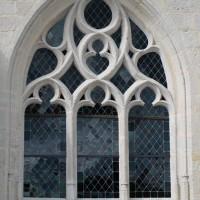 Fenêtre n°3 (en partant de la gauche) du côté sud de l'église (2016)