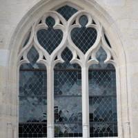 Fenêtre n°2 (en partant de la gauche) du côté sud de l'église (2016)