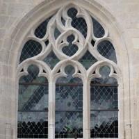 Fenêtre n°1 (en partant de la gauche) du côté sud de l'église (2016)