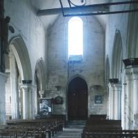 La nef vue vers l'ouest (1995)