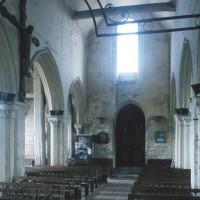 La nef vue vers le sud-ouest (1995)