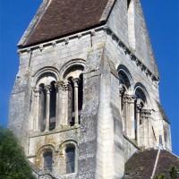 Le clocher vu du sud-est (1994)