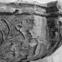 Détails du décor de la cuve baptismale (1994)