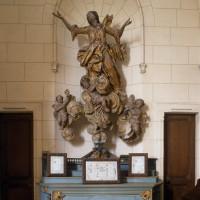 L'Assomption de la Vierge dans l'autel secondaire du croisillon nord (1996)