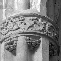 Chapiteau d'un pilier de la nef (1997)