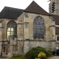 Le transept et le choeur vus du nord-est (2018)