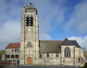 L'église vue du sud (2018)