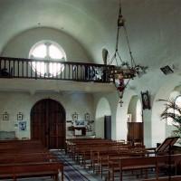 L'intérieur vu vers le nord-ouest (2007)