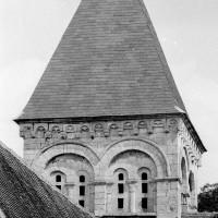 Le clocher vu du sud-ouest (1969)