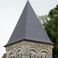 Le clocher vu du nord-ouest (2017)