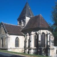 L'église vue du sud-est (1997)